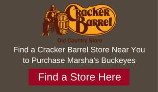 Marshas buckeyes candies at Cracker Barrel