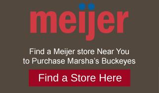 Marshas buckeyes candies at Meijer